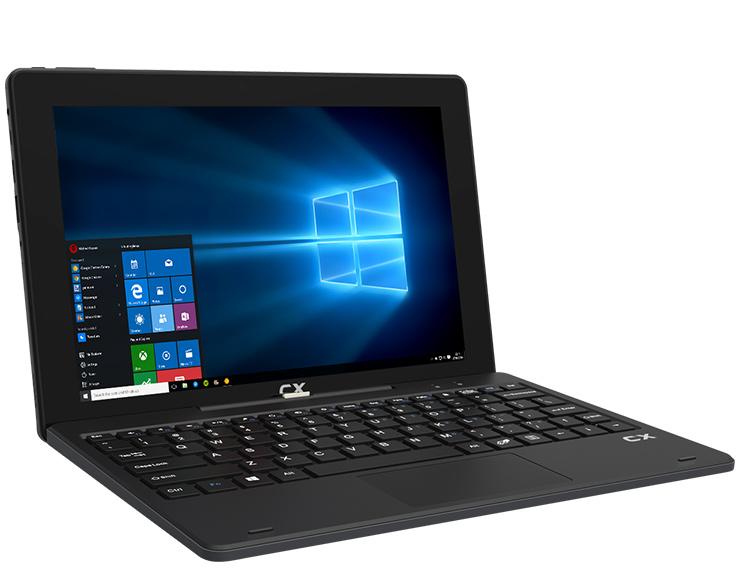 "CX 2en1 10.1"" Windows 10, Intel Atom, Tablet Notebook"