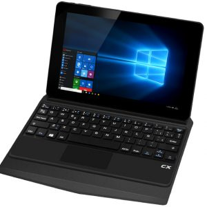 "CX 2en1 8.9"", Windows 10, tablet notebook, QuadCore, Teclado"