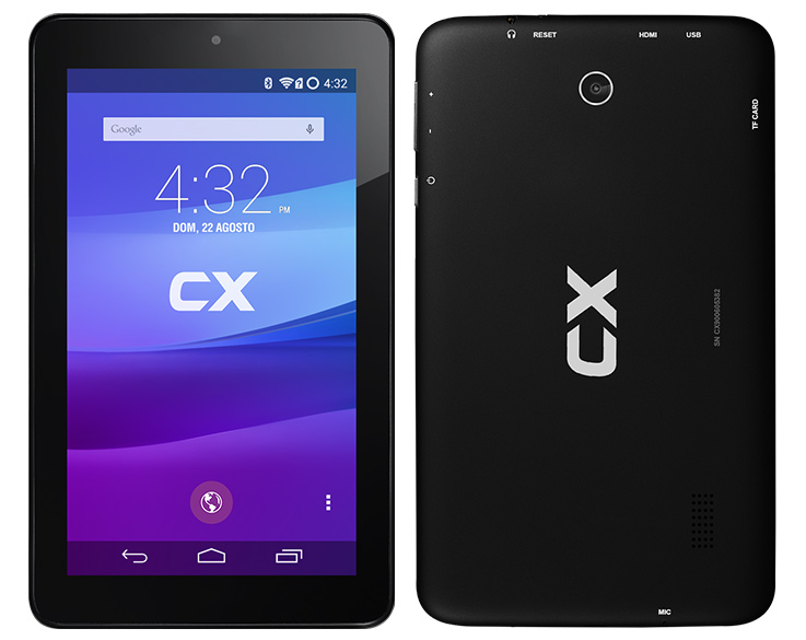 "CX Tablet 7"" 9006, Quad-Core, Android"