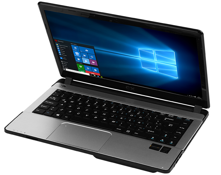 "CX Notebook 14"" Windows 10, intel 6ta Gen, NVIDIA, SSD"